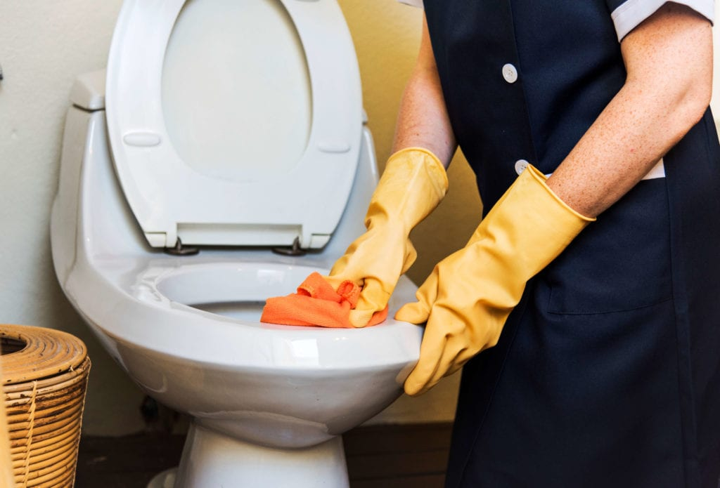 toilet replacement in Raleigh by Streamline Services