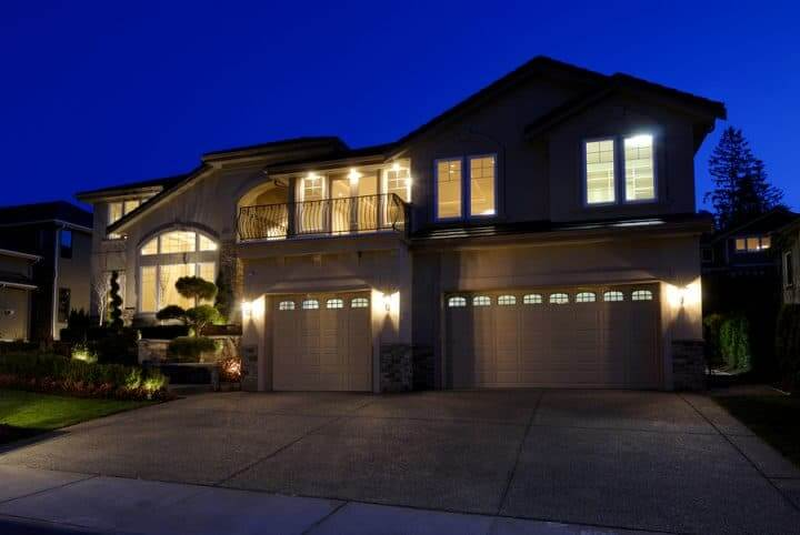 Security Lighting on Home