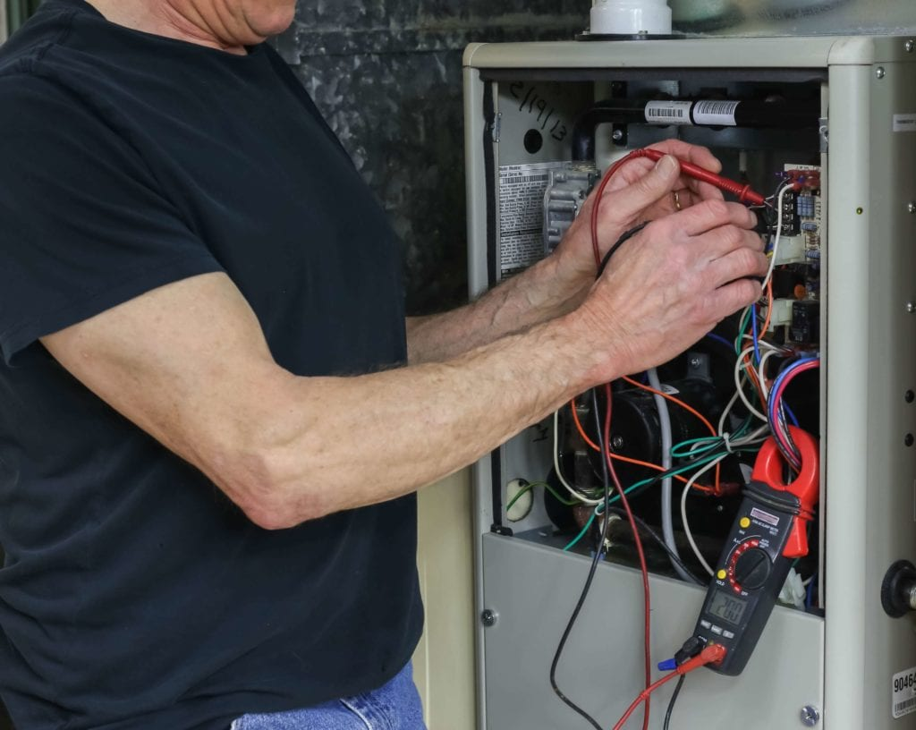 furnace inspection in Raleigh by Streamline Service
