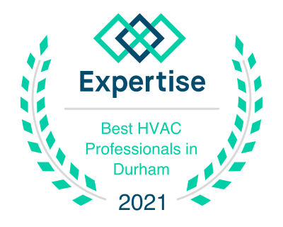 Durham HVAC Expertise Badge